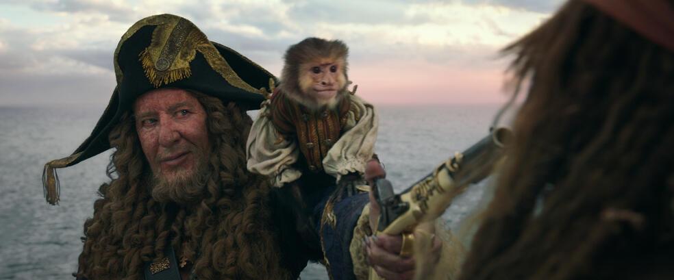 Pirates of the Caribbean 5: Salazars Rache mit Geoffrey Rush