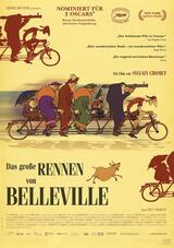 Das große Rennen von Belleville - Poster