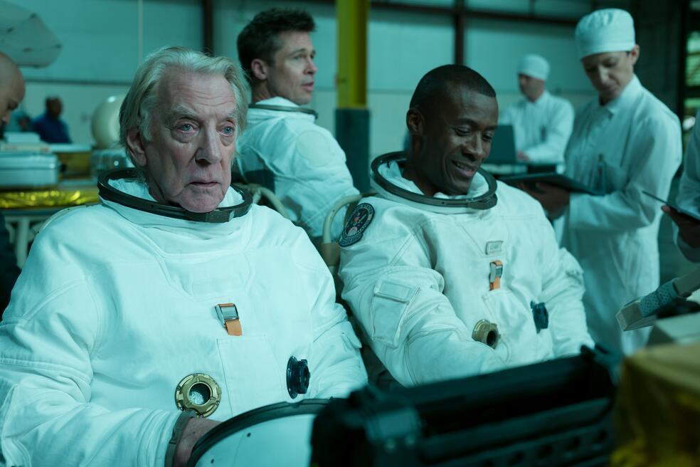 Ad Astra - Zu den Sternen mit Brad Pitt, Donald Sutherland und Sean Blakemore