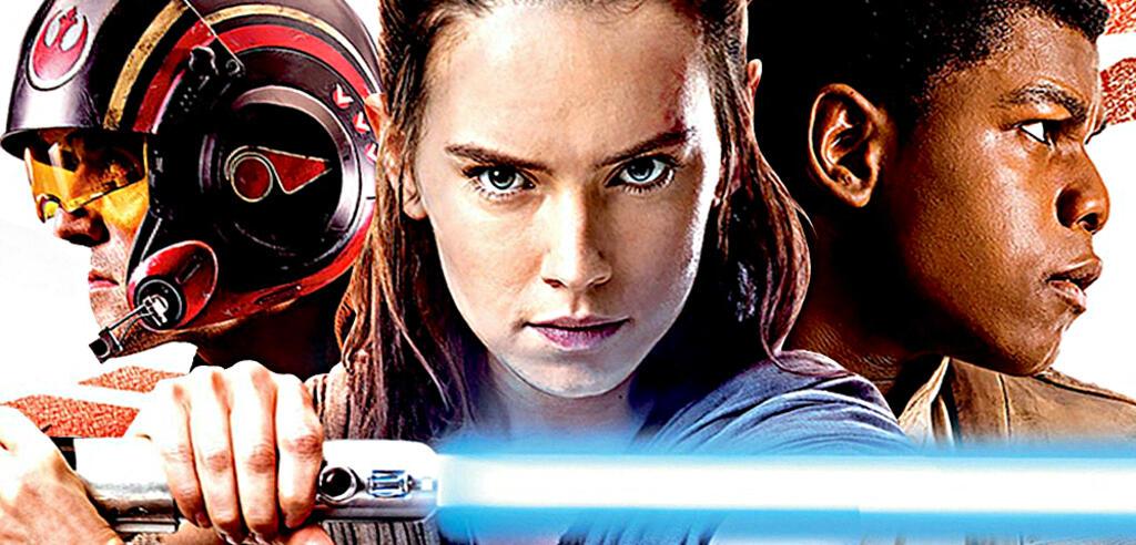 Poe, Rey und Finn