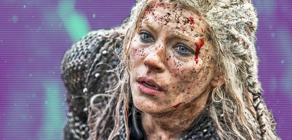 Vikings mit Katheryn Winnick als Lagertha