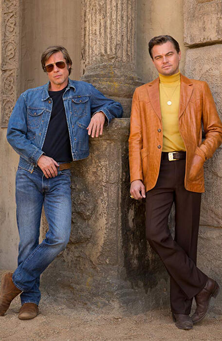 Once Upon a Time in Hollywood mit Leonardo DiCaprio und Brad Pitt