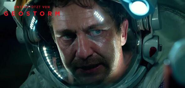 Gerard Butler in Geostrom