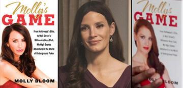 Molly's Game: Jessica Chastain zwischen dem echten und nachgestellten Buchcover