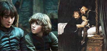 Bran und Rickon vs. Die Prinzen im Tower