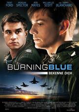 Burning Blue - Poster