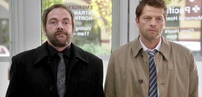 Supernatural: Crowley und Castiel