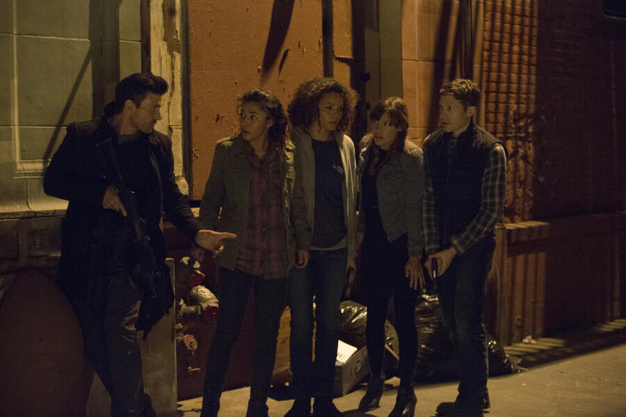 The Purge 2 - Anarchy mit Frank Grillo, Kiele Sanchez, Zach Gilford, Carmen Ejogo und Zoë Soul