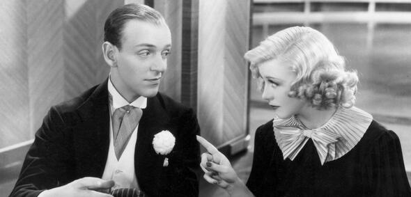 Fred Astaire und Ginger Rogers