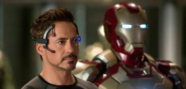 Robert Downey Jr. inIron Man 3