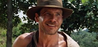 Harrison Ford als Indiana Jones