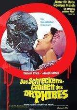 Das Schreckenskabinett des Dr. Phibes - Poster