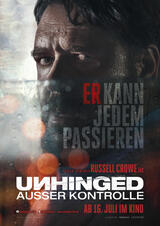 Unhinged - Ausser Kontrolle - Poster