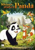 Kleiner starker Panda
