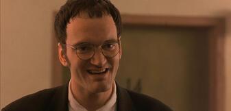 Quentin Tarantino in From Dusk Till Dawn
