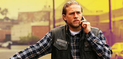 Charlie Hunnam im Sons of Anarchy