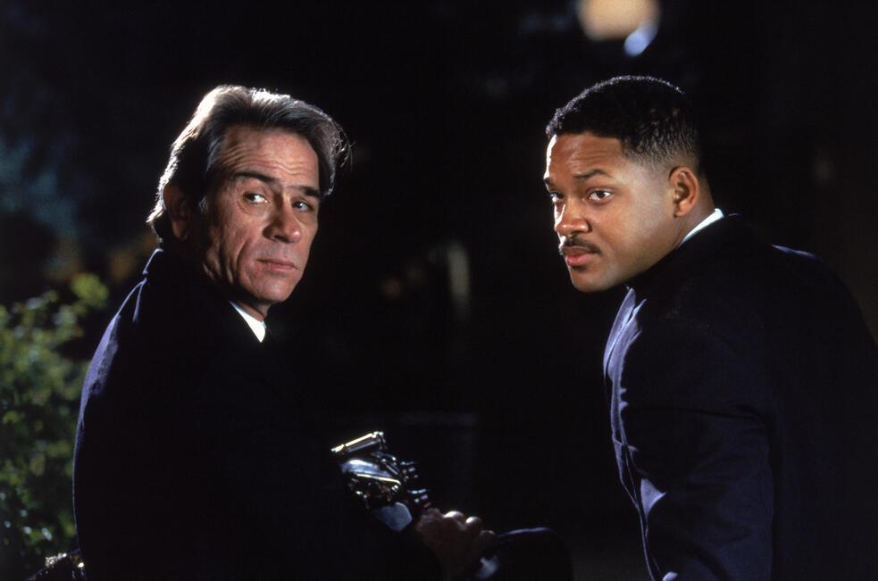 Men in Black mit Will Smith und Tommy Lee Jones