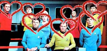 Bild zu:  Die Crew der Enterprise