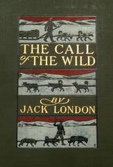 Buchcover der Erstausgabe von The Call of the Wild