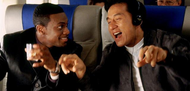 Jackie Chan und Chris Tucker in Rush Hour