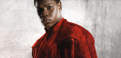 John Boyega als Finn in Star Wars
