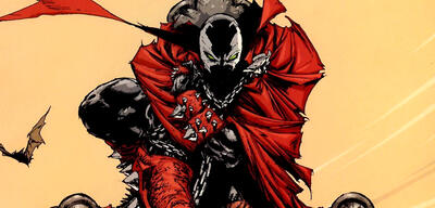 Spawn in einem Comic