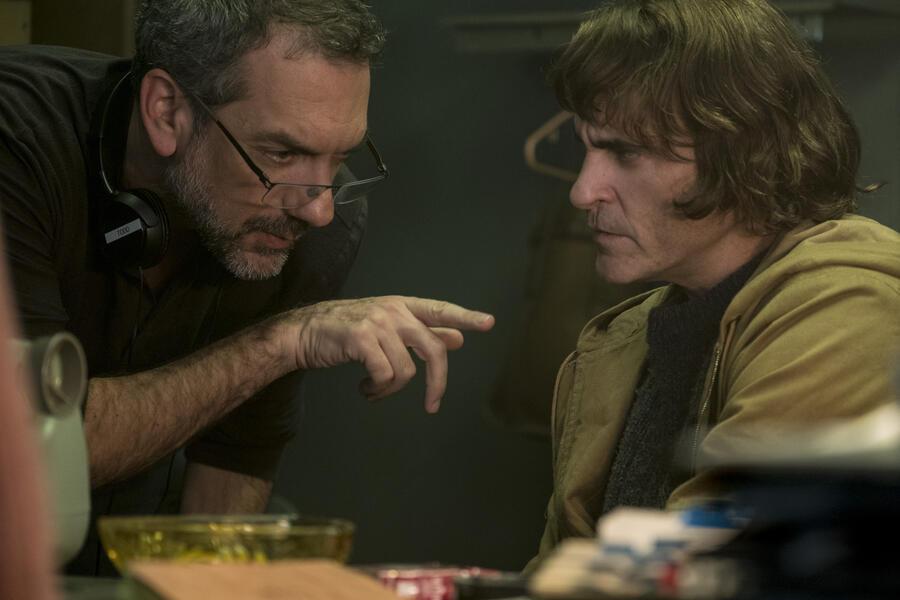 Joker mit Joaquin Phoenix und Todd Phillips
