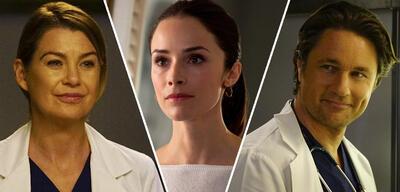 Ellen Pompeo & Martin Hendersen in Grey's Anatomy, dazwischen Abigail Spencer in Sieben verdammt lange Tage