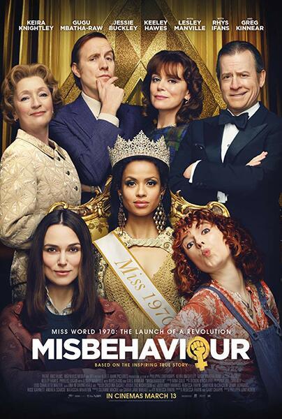 Die Misswahl - Der Beginn einer Revolution mit Keira Knightley, Rhys Ifans, Greg Kinnear, Gugu Mbatha-Raw, Keeley Hawes, Jessie Buckley und Lesley Manville
