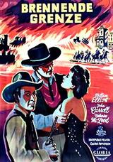 Brennende Grenze - Poster