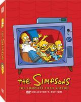 Die Simpsons - Staffel 5 - Poster