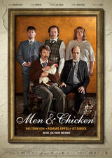 Men & Chicken - Poster