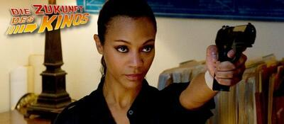Zoe Saldana will Rache in Colombiana
