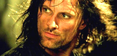 Viggo Mortensen als Aragorn in Der Herr der Ringe