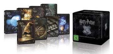Harry Potter: 4K-Box als limitiertes Steelbook