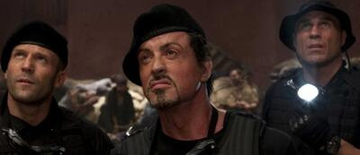 Silvester Stallone mit Gefolgschaft in The Expendables