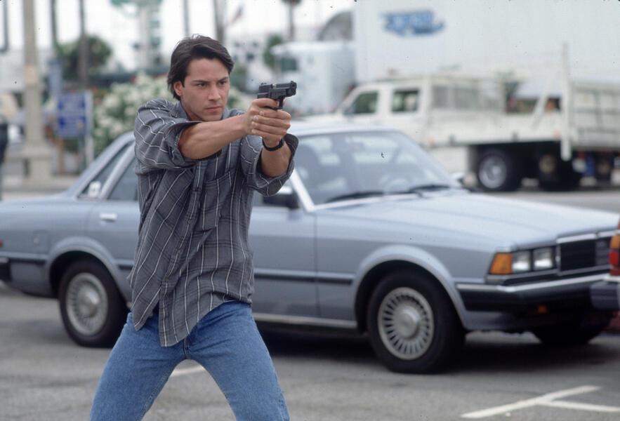 Keanu Reeves in Gefährliche Brandung