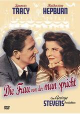 Die Frau, von der man spricht - Poster