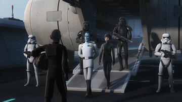 Welche Rolle spielt Thrawn in der 4. Staffel von Star Wars Rebels?