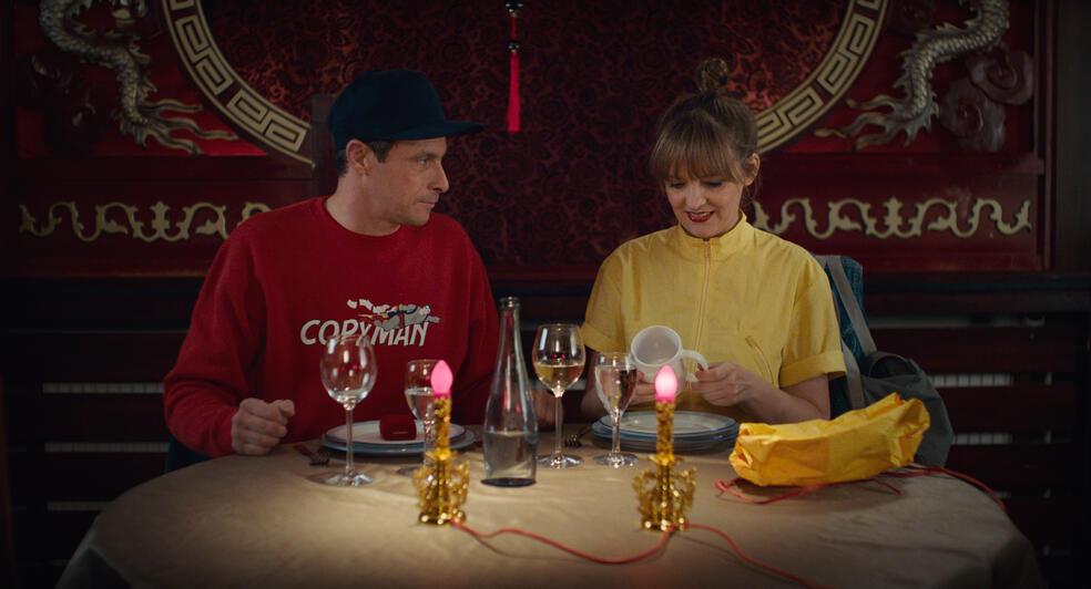 Zwei im falschen Film mit Laura Tonke und Marc Hosemann