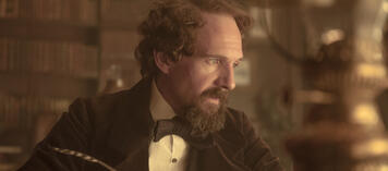 Ralph Fiennes als Charles Dickens in The Invisible Woman