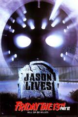 Freitag der 13. - Jason lebt - Poster