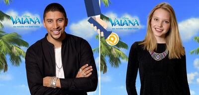 Andreas Bourani und Lina Larissa Strahl sprechen Maui und Vaiana