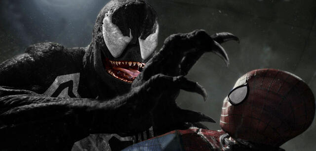 Venom in Spider Man 3