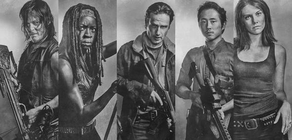 Bereit für The Walking Dead - Staffel 6.2: Daryl, Michonne, Rick, Glenn und Maggie