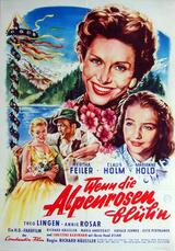 Wenn die Alpenrosen blüh'n - Poster