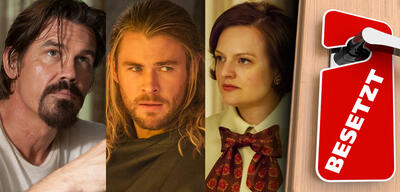 Josh Brolin in Labor Day / Chris Hemsworth in Thor: The Dark Kingdom / Elisabeth Moss in Mad Men