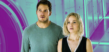 Bild zu:  Jennifer Lawrence und Chris Pratt in Passengers