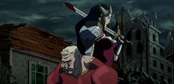 Aquaman und Wonder Woman