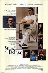 Stand and Deliver - Poster